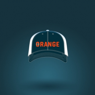 Club-orange-CAP-FLEX-MEN-front-homme