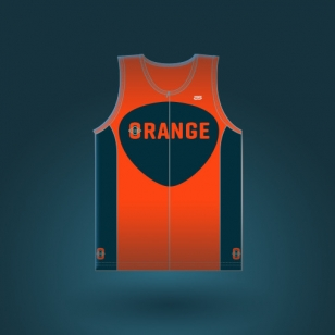 Club-orange-CYCLING-SINGLET-CTM-3000-MEN-front-homme