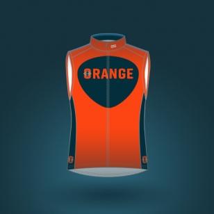 Club-orange-VEST-POW-7000-MEN-front-homme